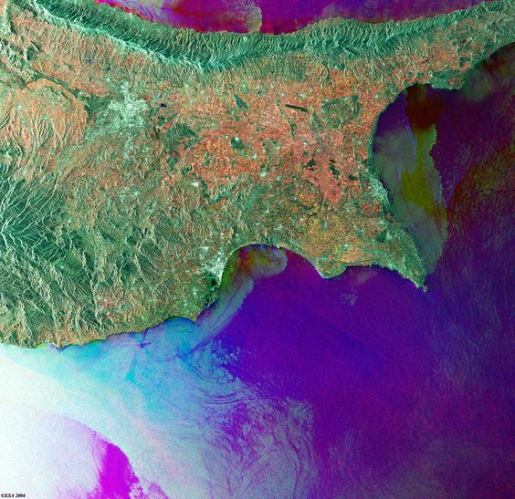 Space in Images - 2004 - 03 - Cyprus - ASAR - 11 March 2004