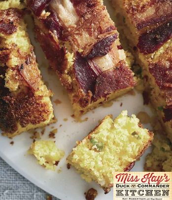 Mexican Cornbread from Miss Kay's Duck Commander Kitchen #Recipes #Cookbook #DuckDynasty #FreeBook