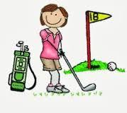 I love playing golf