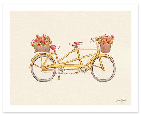 Bicycle built for two!