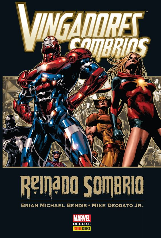 Vingadores Sombrios - O Reinado Sombrio - Marvel Deluxe - MonsterBrain