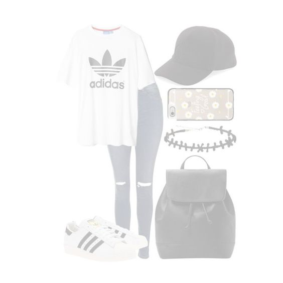 """""""×aesthetic tumblr wannabe×"""" by futuremrsclifford ❤ liked on Polyvore featuring Topshop, adidas, adidas Originals, Prada, MANGO and Casetify"""