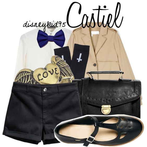 """Castiel"" by disneykid95 on Polyvore"