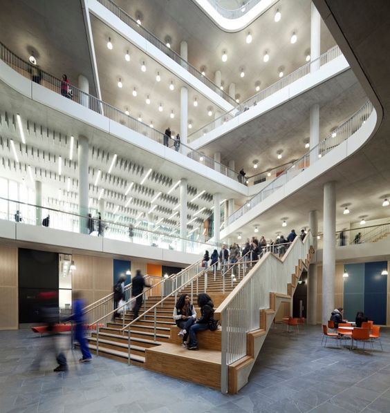 City of Westminster College by schmidt hammer lassen architects
