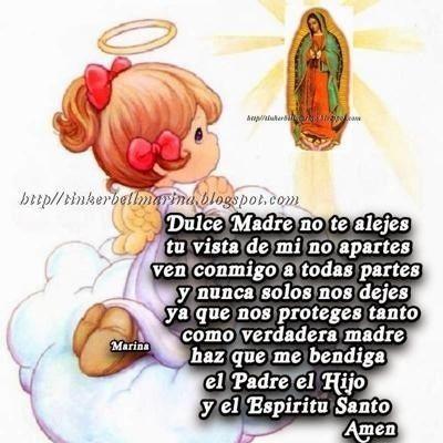 Angel con Oración