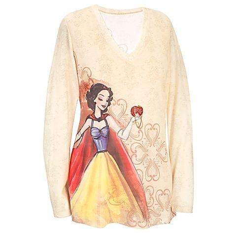 Disney Princess Designer Long Sleeve Snow White Tee.... $29.50