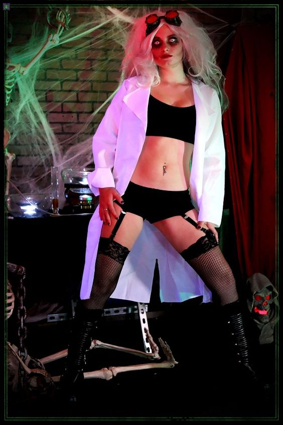 Sexy Scary Halloween Costumes Science Laboratory Sexy, Halloween - sexiest halloween costume ideas