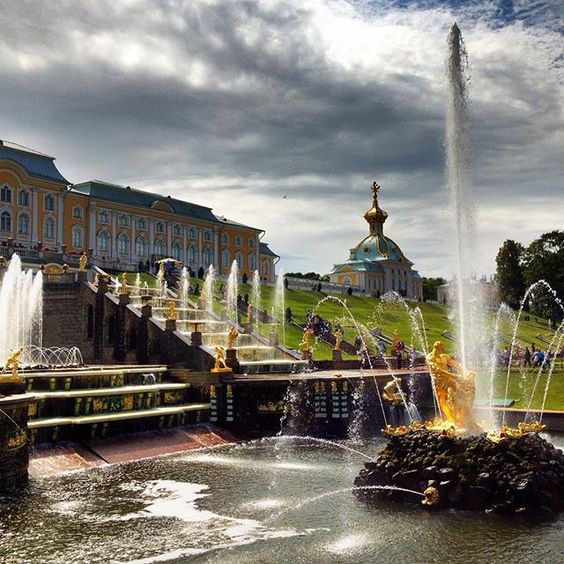 Another Picture from my trip with the Mein Schiff 4 to Sankt Petersburg #Peterhof