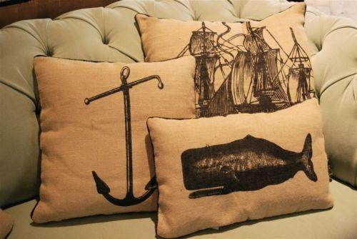 Awesome nautical throw pillows