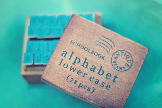 Alphabet Stamp Sets    Stamp it out.  Starting at    87% OFF