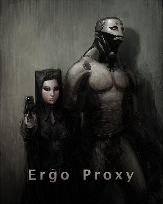 Ergo Proxy by ~poisondlo on deviantART Re-L and Iggy