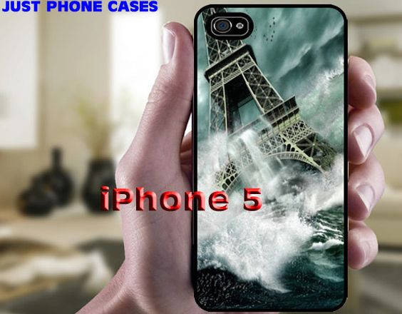 Eiffel Tower Paris in the Ocean iPhone 5 Hard or by JustPhoneCases, $15.99