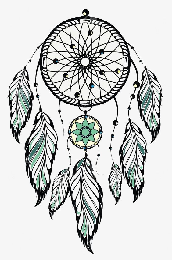 Cartoon Cartoon Clipart Illustration Png And Vector With Transparent Background For Free Download Indian Dream Catcher Dream Catcher Tattoo Design Dream Catcher Art