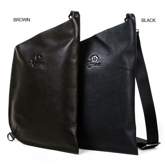 buy Byarms New 2011 Ultra-Thin Leather Men's Shoulder Messenger ...
