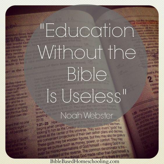 Noah webster essays on education