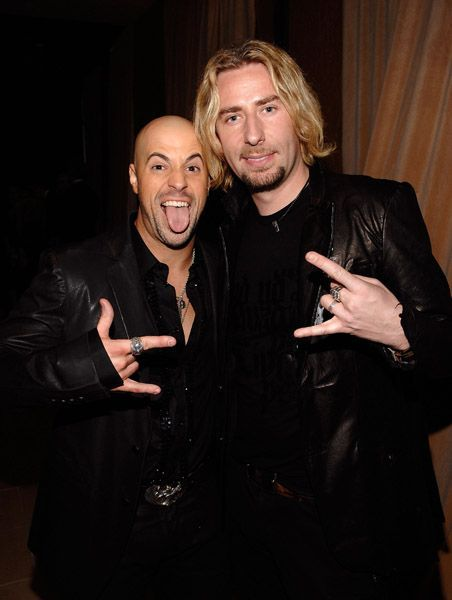 Chris Daughtry and Chad Kroeger. Rock Stars!