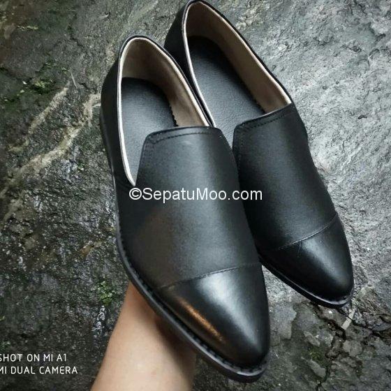 Sepatu Pantofel Kulit Asli Harga Murah Mahendra Sepatu Formal