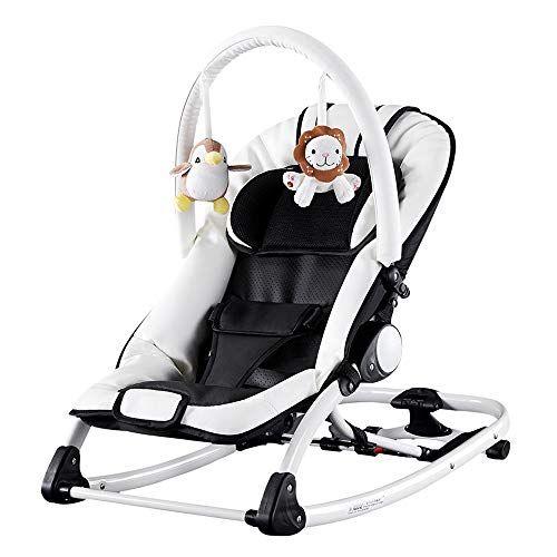 Gkply Baby Swing Music Rocking Chair Crib Comfortable Reclining