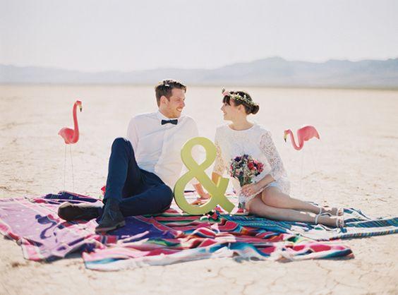 Heiraten in der Wüste von Las Vegas