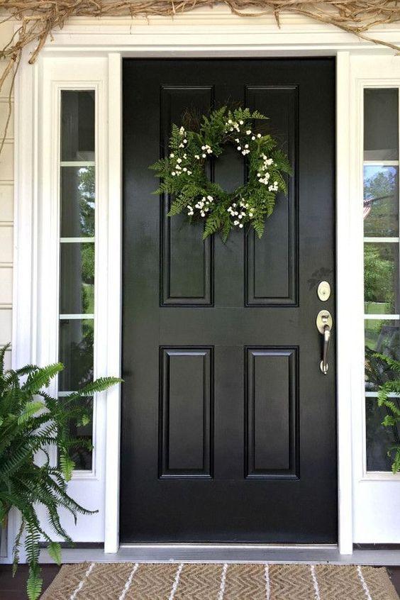 House Window Entryway Sidelight Home Door Screen Door Painted