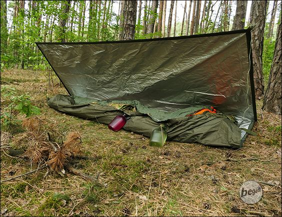 BE-X FronTier One Rugged Reflective Bivy Tarp