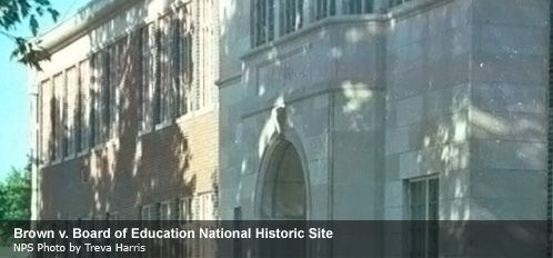 The Brown v. Board of Education National Historic Site in Kansas preserves documents, testimonies, and other artifacts associated with this pivotal case in the struggle for African-American civil rights.