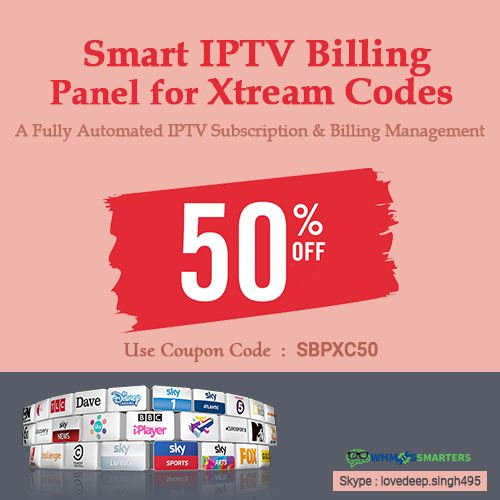 Pin by Whmcs Smarters on IPTV Billing panel for Xtream Codes
