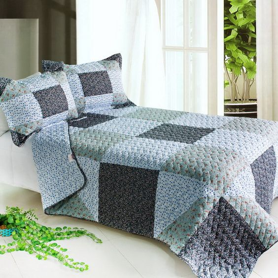 Simple Life Quilt Set (Full/Queen Size)
