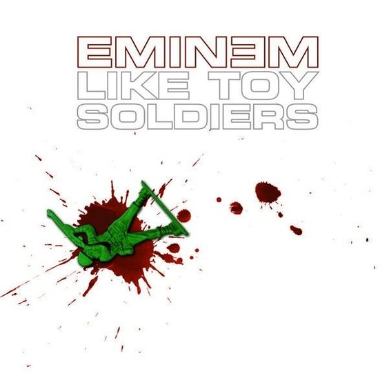 Eminem – Like Toy Soldiers (single cover art)