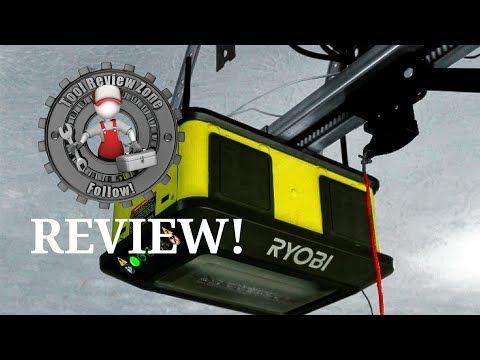 Ryobi 1 25 Hp Belt Garage Door Opener Review How Quiet Is It Gd126 Ryobi Garage Door Opener Garage Doors