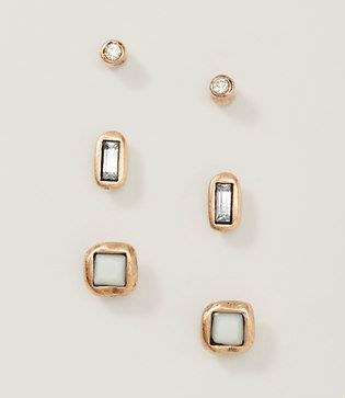 Image of Neutral Stud Earring Set
