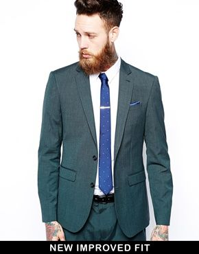 ASOS Slim Fit Suit Jacket In Green | klær 2014 | Pinterest | ASOS