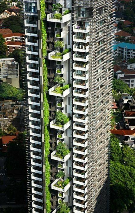 Pin By Nugipuff On Edificios Singulares Green Architecture Skyscraper Architecture Facade Architecture