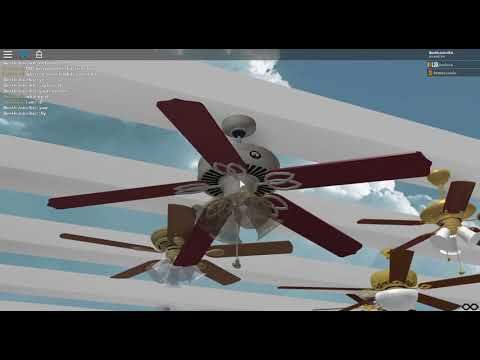 How To Build A House In Roblox Electric State Youtube Roblox Ceiling Fans In My House Youtube Ceiling Fan Fan Hampton Bay