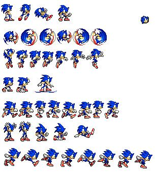 Some Sonic Sprites By Sonicman98 Jpg 309 215 338 Game