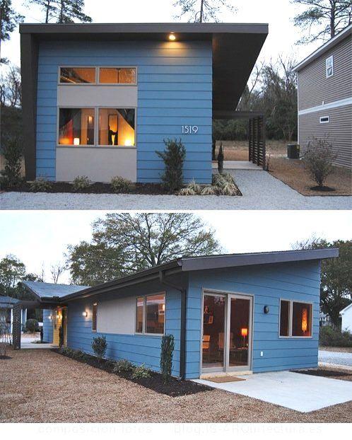 Casa prefabricada asequible fotos exteriores fachada - Casa prefabricada valencia ...