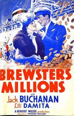 Brewster's Millions. Jack Buchanan, Lili Damita. 1935