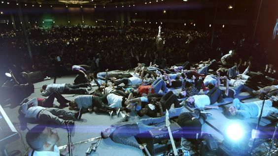 Holy Spirit Outpouring upon Youth in Dallas, Texas (+playlist)