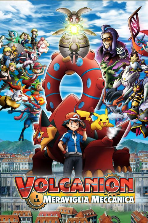 Pokemon The Movie Volcanion And The Mechanical Marvel full