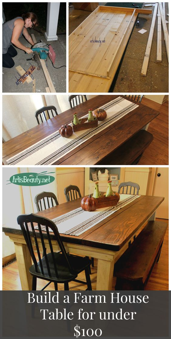 http://www.artisbeauty.net/2013/09/how-to-build-your-own-farmhouse-table.html