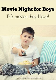 Movies for pre-teen boys