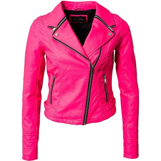 River Island Zip Collar Biker Jacket ($73) ❤ liked on Polyvore featuring outerwear, jackets, coats & jackets, pink, womens-fashion, tall motorcycle jacket, moto zip jacket, asymmetrical zipper jacket, zip jacket and pink motorcycle jacket