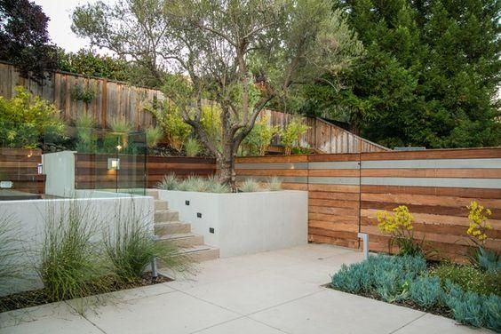 "05_barden_residence_miller_steps Portland Jardín Jardín Diseño Calimesa ""Dream Team"", CA"