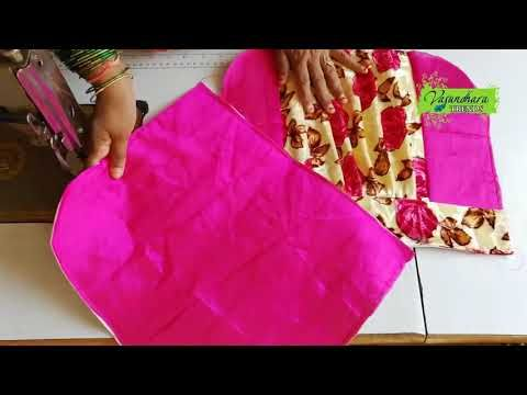 Easy And Simple Hand Bag Making At Home How To Sch Handmade