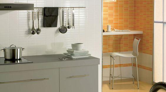 Revestimientos ceramico para cocinas venta azulejos for Fotos de cocinas modernas