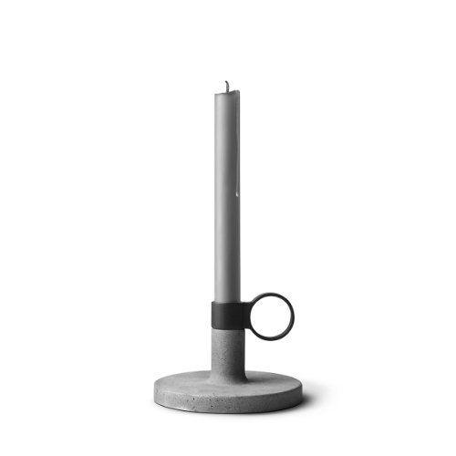 Menu 4756139 Kerzenhalter Weight Here, S, Höhe 10,3 cm, Durchmesser 14 cm für Standard-Kerzen
