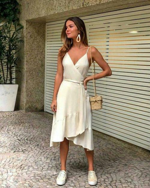 V Neck Prom Dress ,A-line prom dress