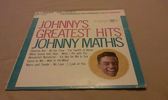 Johnny Mathis Greatest Hits Classic Vintage Collectible