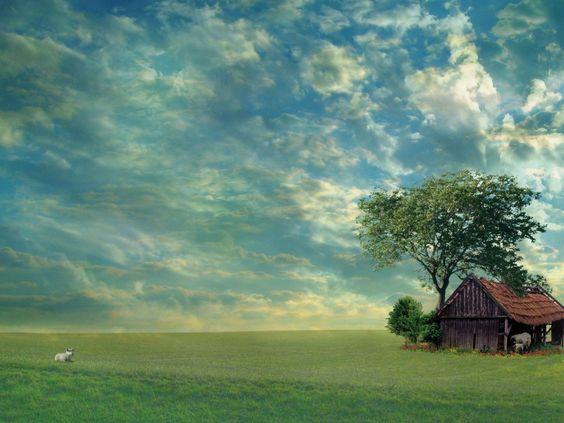 wallpapers paisajes casa y campestres - Buscar con Google