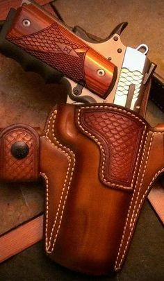custom concealed carry holsters from Jeffrey Custom Leather